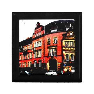 het gotische Duitse uitzicht van de de Vierkant Opbergdoosje Small