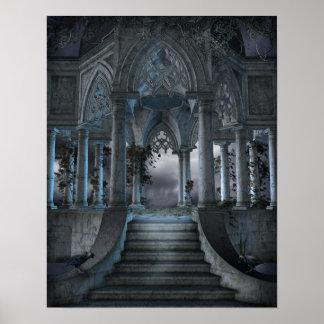 Het gotische Poster van het Mausoleum