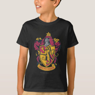 Het Goud en het Rood van CREST van Gryffindor T Shirt