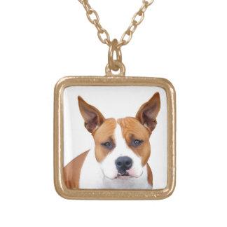 Het Goud of het Zilver van Neckace ~ van de Hond Goud Vergulden Ketting