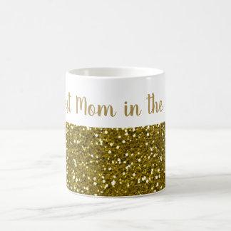 Het goud schittert Beste Mamma in de Wereld Koffiemok