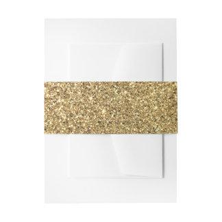 Het goud schittert Foto Uitnodigingen Wikkel