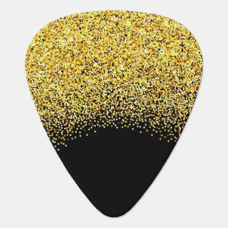 Het goud schittert gitaar plectrum 0