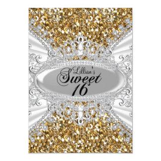 Het goud schittert & nodigt Snoepje 16 van de Kaart