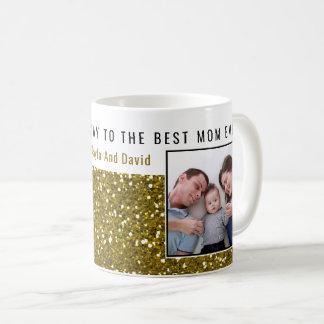 Het goud schittert ooit het Beste Mamma van de Koffiemok