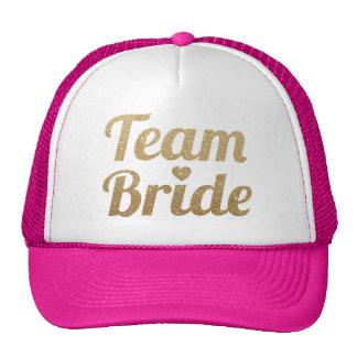 Het Goud van de Bruid van het team schittert het Petten Met Netje