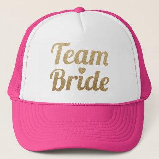 Het Goud van de Bruid van het team schittert het Trucker Pet