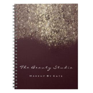 Het Goud van de Kunstenaar van Bourgondië van de Notitieboek