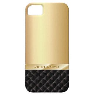 Het Goud van de luxe met iPhone 5 van de Naam van Barely There iPhone 5 Hoesje
