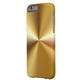 Het Goud van de Luxe van het mannen ziet eruit Barely There iPhone 6 Hoesje