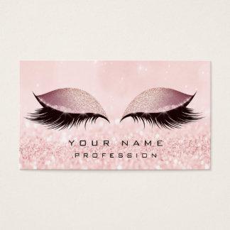 Het Goud van de make-up bloost Roze schittert de Visitekaartjes