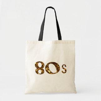 het Goud van de Nostalgie van de jaren '80 Draagtas