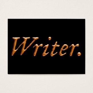 Het Goud van de schrijver Visitekaartjes