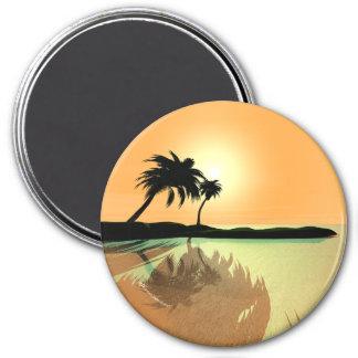 Het Goud van het eiland Ronde Magneet 7,6 Cm