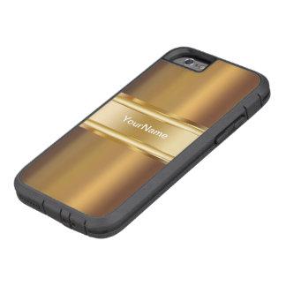 Het Goud van het mannen kijkt Dekking Tough Xtreme iPhone 6 Hoesje