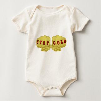 Het Goud van het verblijf Baby Shirt