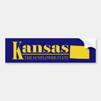 Het Goud van Kansas Bumpersticker