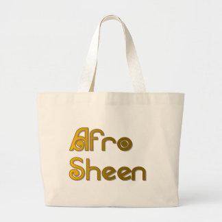 Het goud van Sist- van de Glans van Afro Grote Draagtas