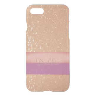 Het Goud van Sparkly met een Aanraking van Roze en iPhone 8/7 Hoesje