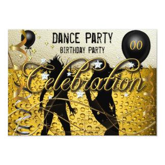 Het gouden Bier van de Viering van de Partij van 12,7x17,8 Uitnodiging Kaart