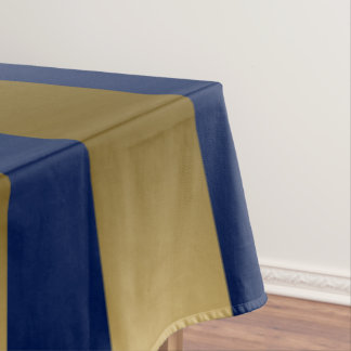 Het gouden & Blauwe Geometrische Patroon van Tafelkleed