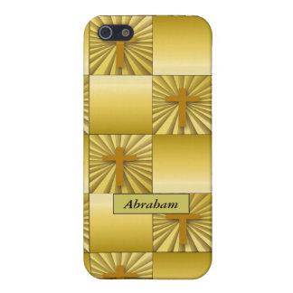 Het gouden DwarsHoesje van het Speck iPhone 5 Hoesje