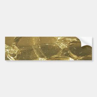 het gouden elegante feestelijke goud van bar bumpersticker