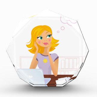 Het gouden haar illustreerde Secretaresse: Prijs