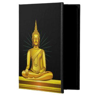 Het gouden Hoesje van de Lucht van Boedha iPad iPad Air Hoesje