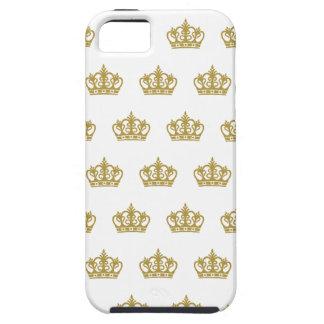 Het gouden hoesje van het patroonApple Iphone van