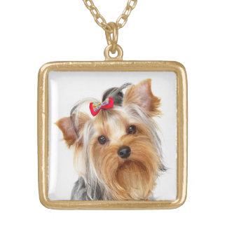 Het Gouden Ketting van de Hond van het Puppy van