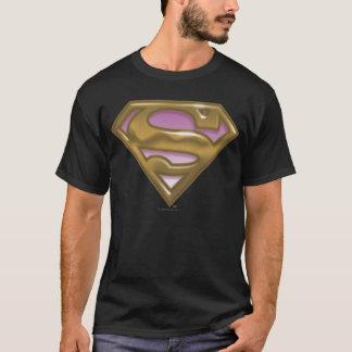 Het Gouden Logo van Supergirl T Shirt