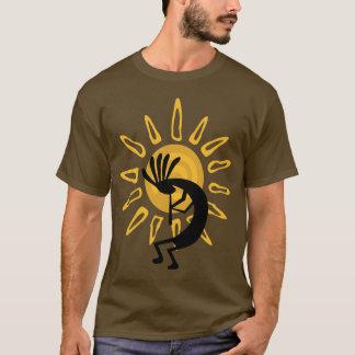 Het Gouden Mannen Bruine Lange Sleeve van T Shirt