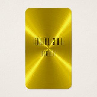 Het gouden Metaal van het Staal Visitekaartjes