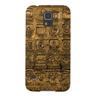 Het gouden mobiele geval van de Melkweg van Galaxy S5 Hoesje