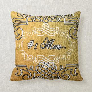 Het Gouden Moederdag van het fancy #1 Mamma Sierkussen