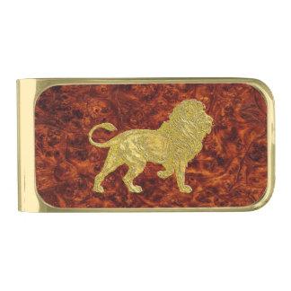 Het gouden Patroon van Burl van de Leeuw Vergulde Geldclip