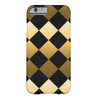 Het gouden Patroon van de Diamant Barely There iPhone 6 Hoesje
