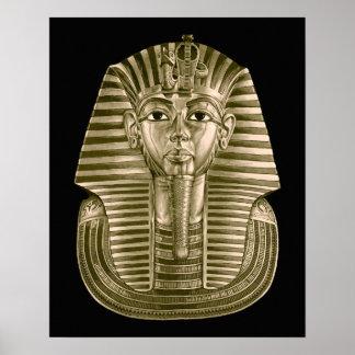 Het gouden Poster van Tut van de Koning