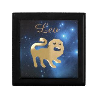 Het gouden teken van de Leeuw Decoratiedoosje