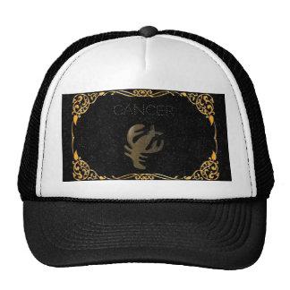 Het gouden teken van kanker trucker cap