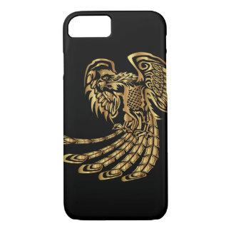 Het gouden Toenemen van Phoenix iPhone 8/7 Hoesje
