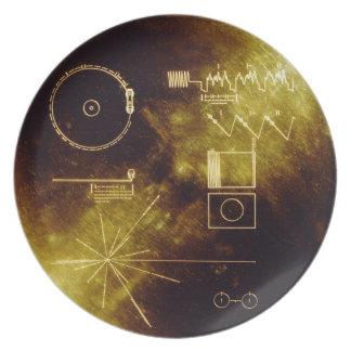 Het Gouden Verslag van de reiziger Melamine+bord