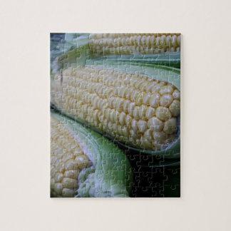 Het Graan van de Markt van landbouwers Puzzel