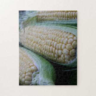 Het Graan van de Markt van landbouwers Puzzels