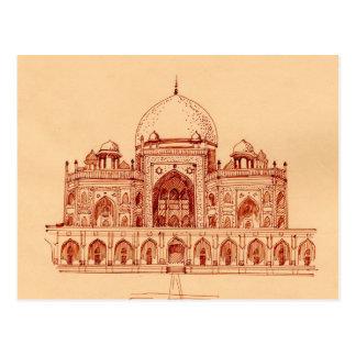 Het graf van Humayun ` s Briefkaart