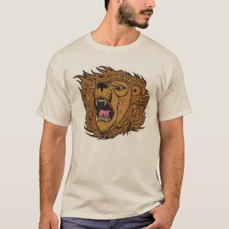 Het Grafische Art. van de Leeuw van het gebrul T Shirt