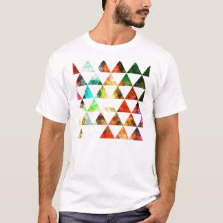 Het grafische Geschilderde Ontwerp van de Driehoek T Shirt