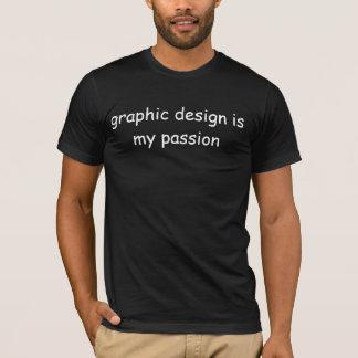 """Het """"grafische Ontwerp de Excentrische t-shirt is"""