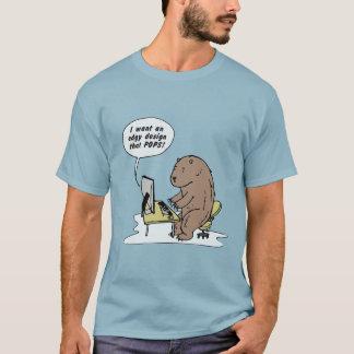Het grafische Ontwerp draagt - T-shirt